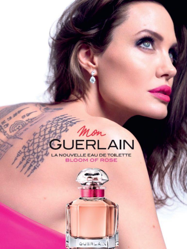 Angelina Jolie Mon Guerlain Bloom of Rose