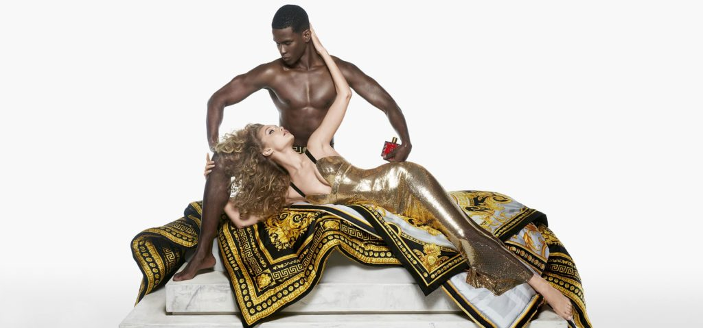 Versace Eros Flame - amor i psyche kampania