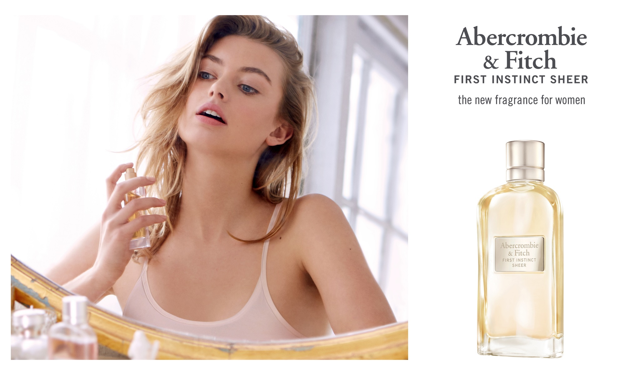 Abercrombie&Fitch First Instinct Sheer Woman - Perfumy damskie - Nez