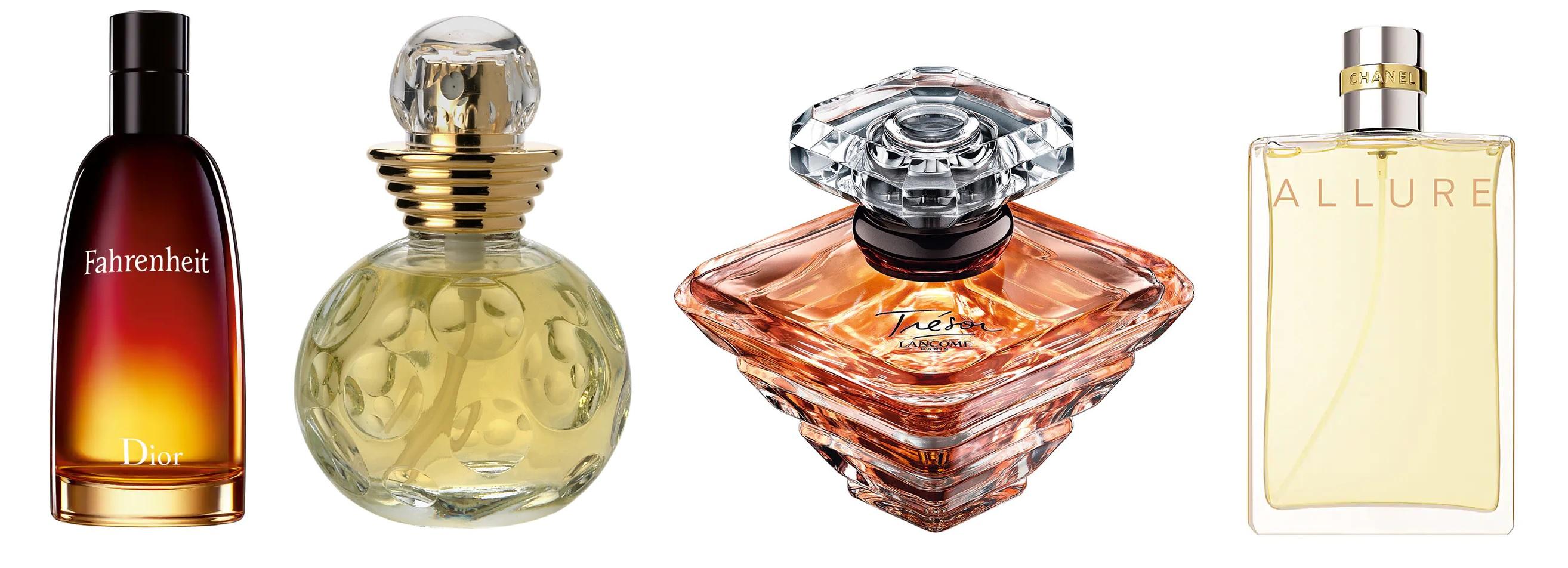 Perfumy z ISO E Super: Dior Dolce Vita, Lancome Tresor, Chanel Allure, Dior Fahrenheit