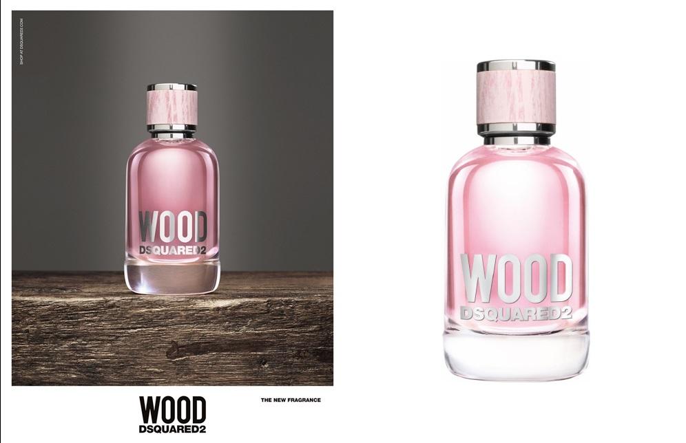 DSquared Wood Femme