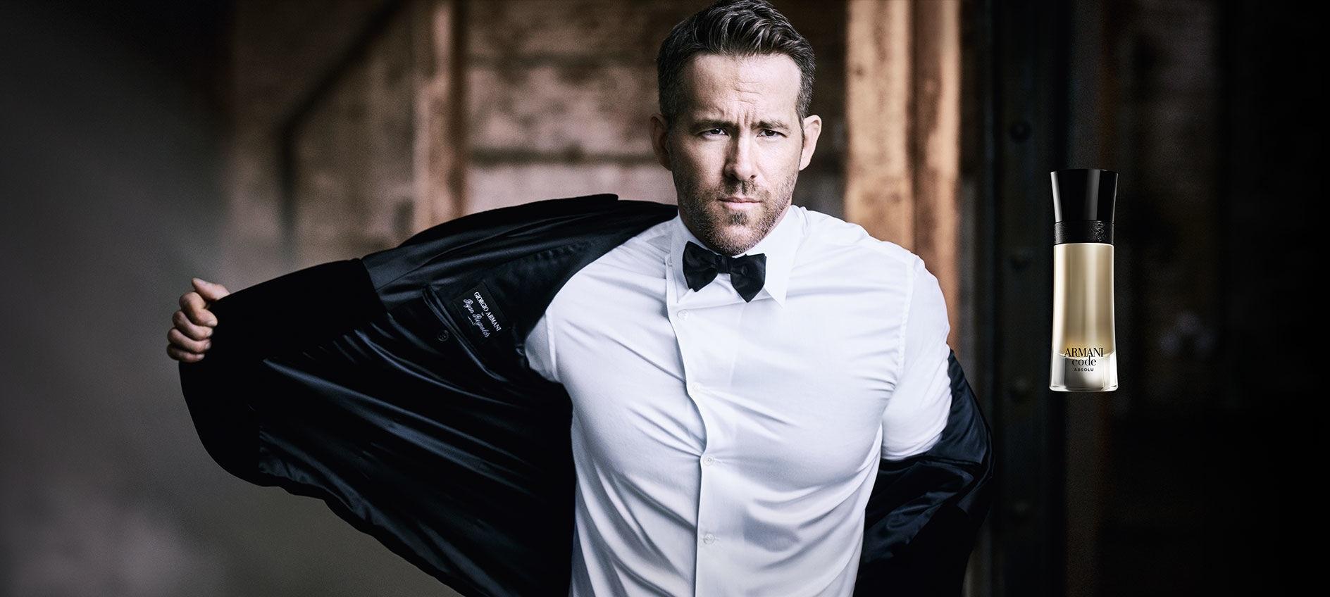 Ryan Reynolds dla Armani Code Absolu