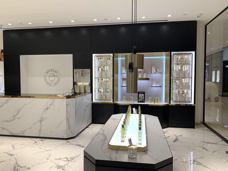 Salon Nicolai Parfumeur w Szanghaju