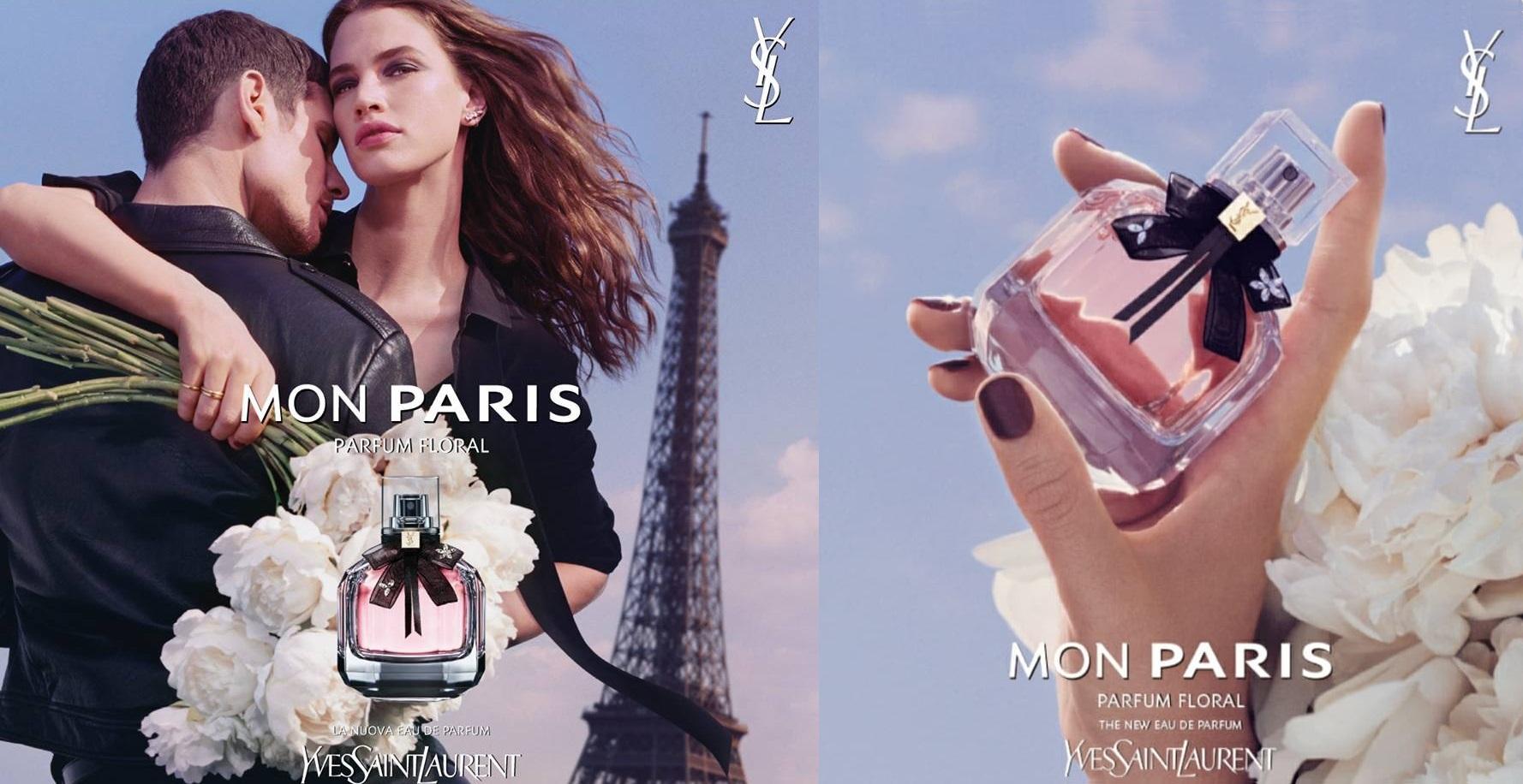YSL Mon Paris Parfum Floral - oficjalna fotografie