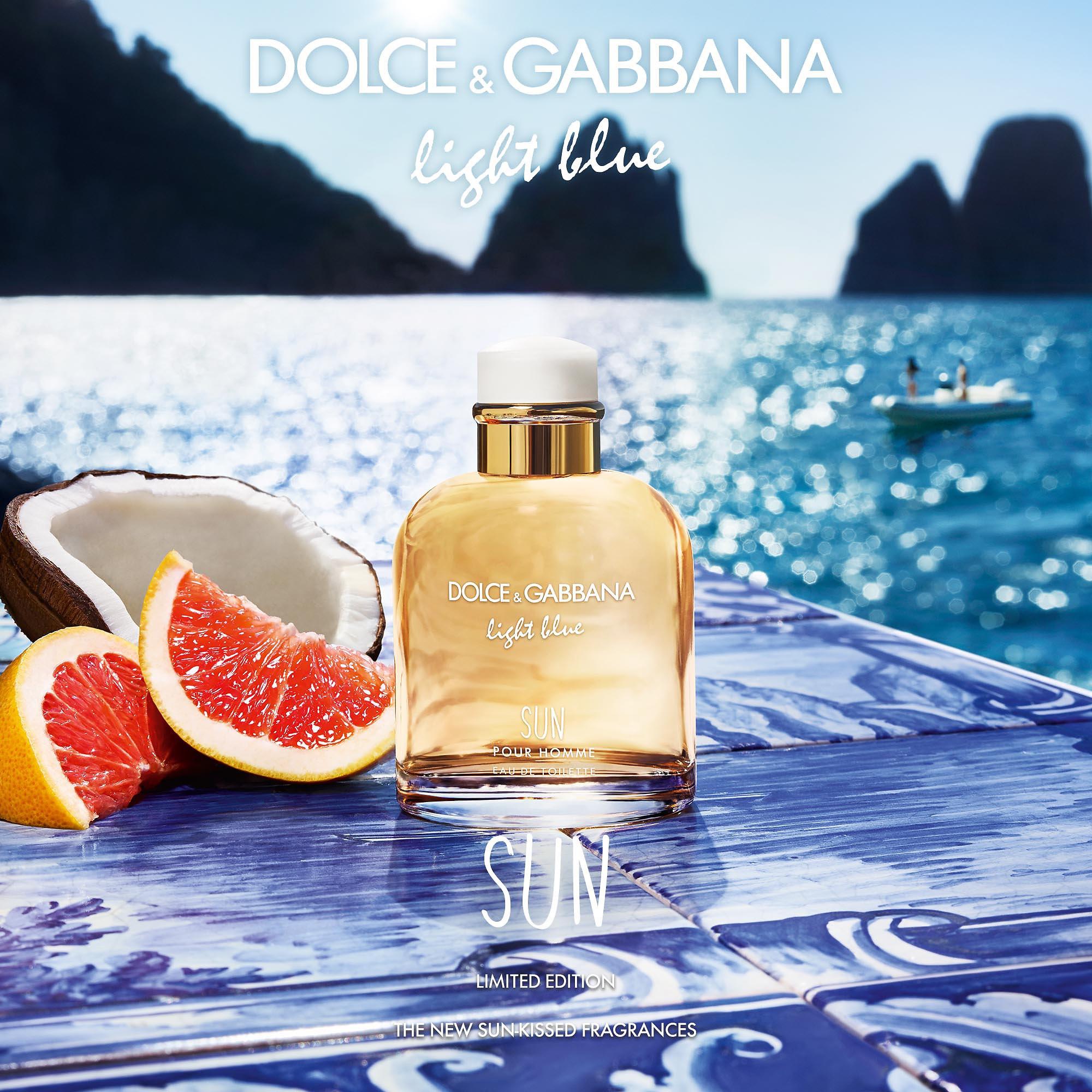 Dolce&Gabbana Light Blue Pour Homme Sun