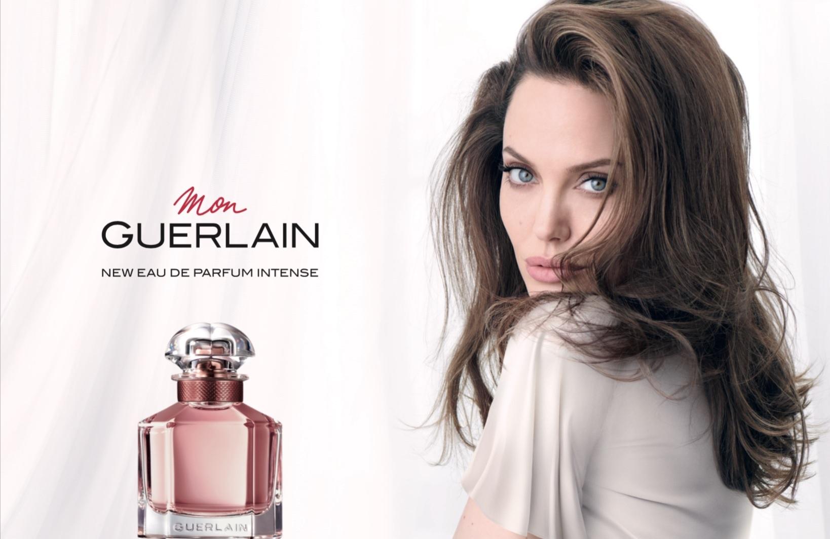 Angelina Jolie w kampanii Mon Guerlain Intense