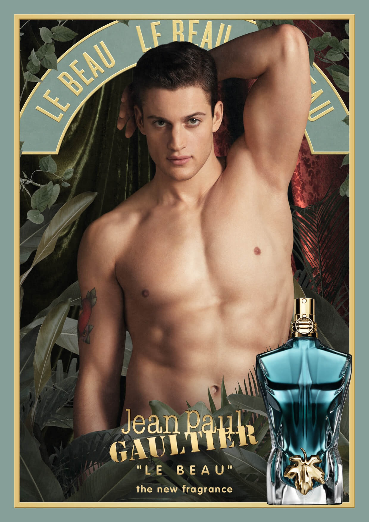 Jean Paul Gaultier perfumy męskie Le Male Le Beau