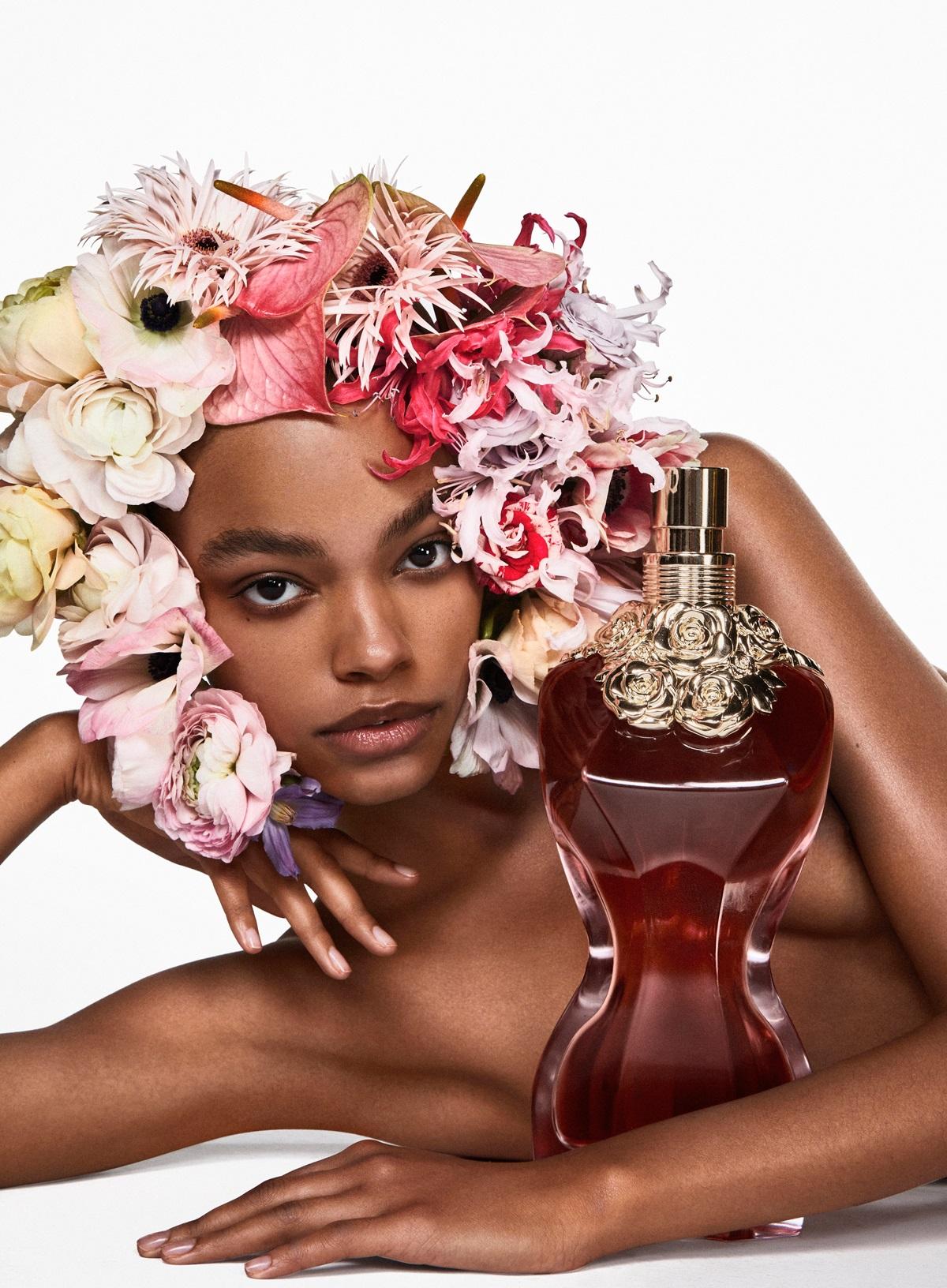 Zdjęcie reklamowe perfum JPG La Belle
