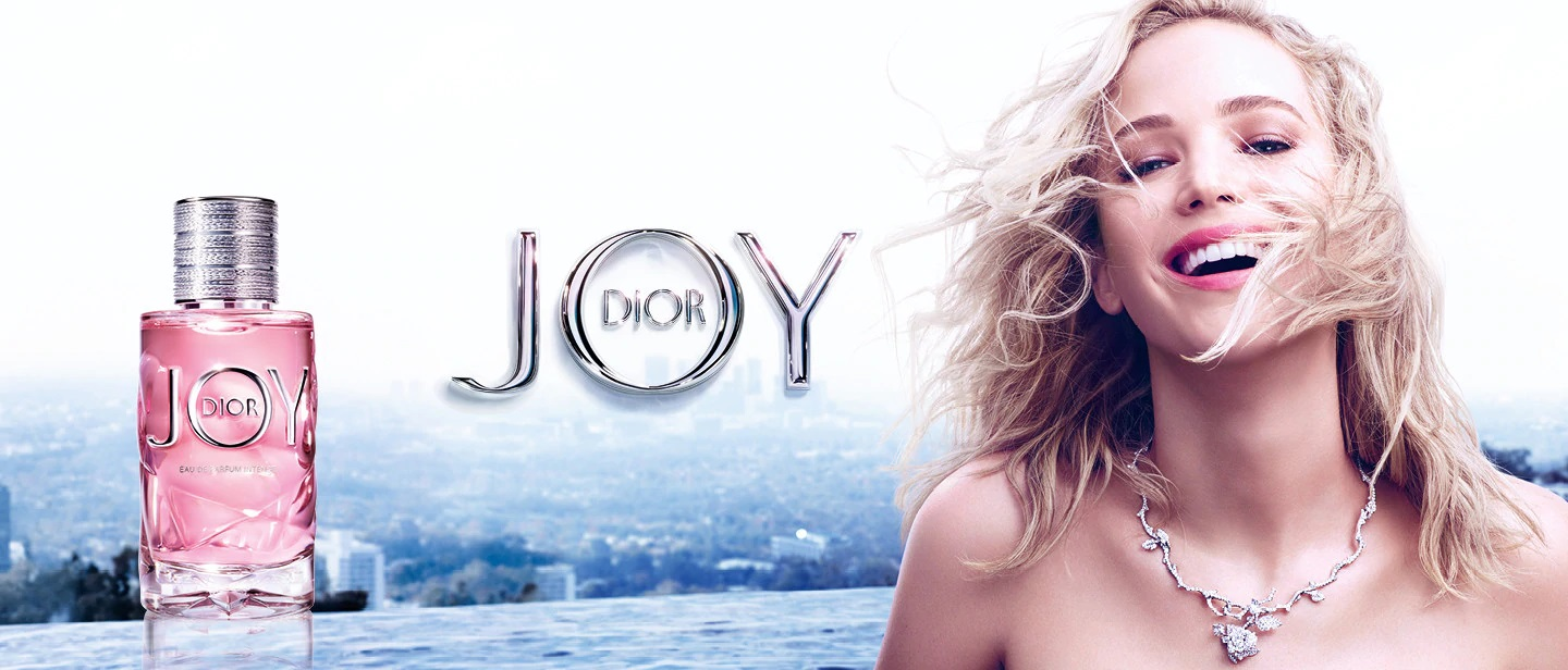 Jennifer Lawrence w kampanii Joy Intense
