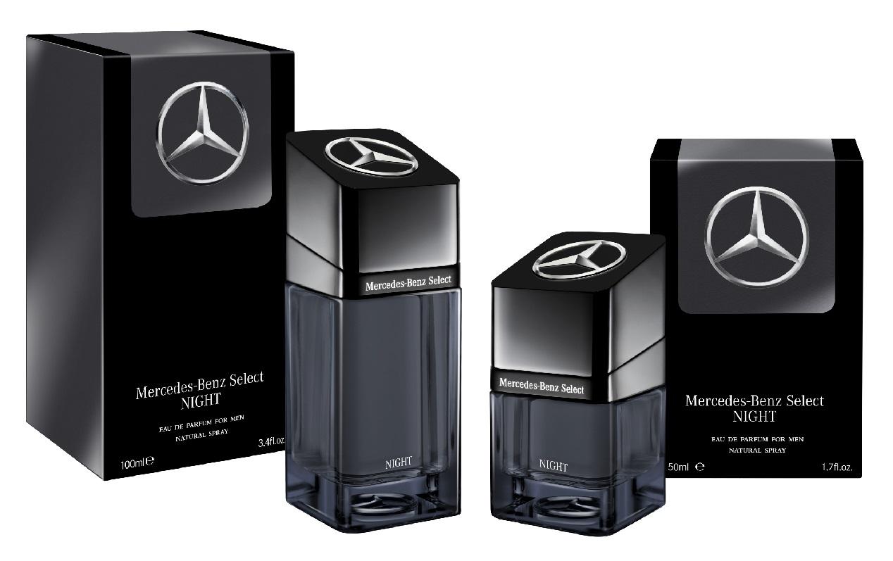 Mercedes Benz Select Night 50 i 100 mL