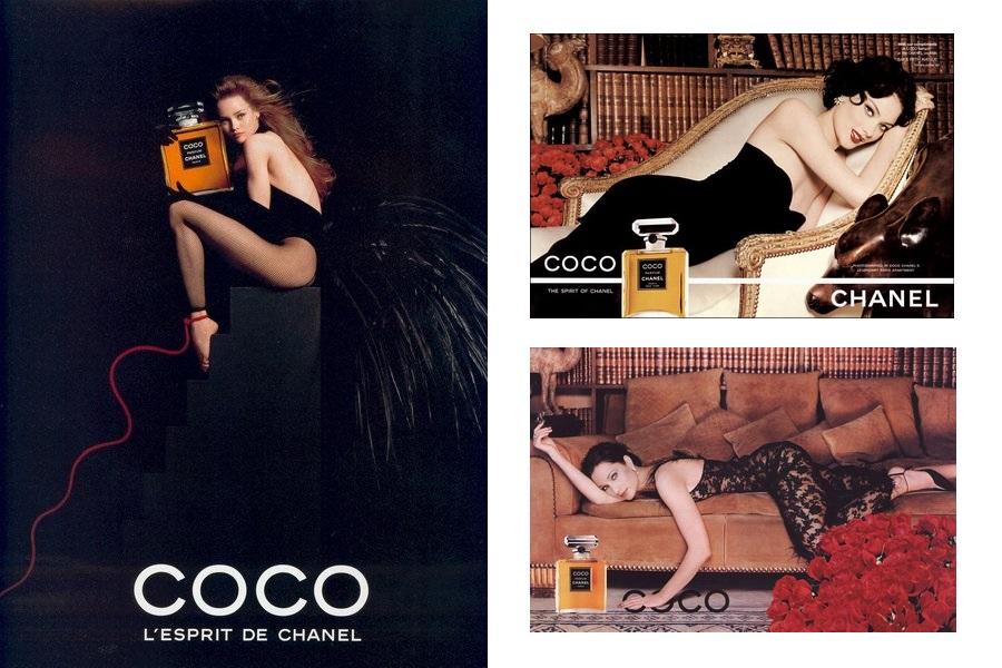 Chanel Coco EdP - kampanie sprzed wielu lat