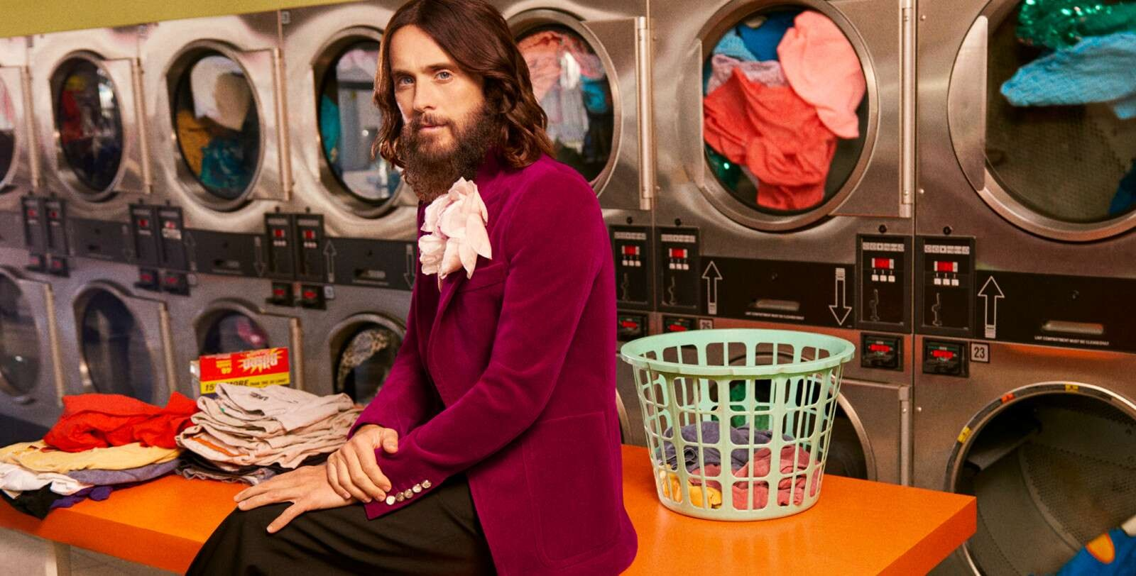 Jared Leto w kampanii Gucci Guilty Love Edition