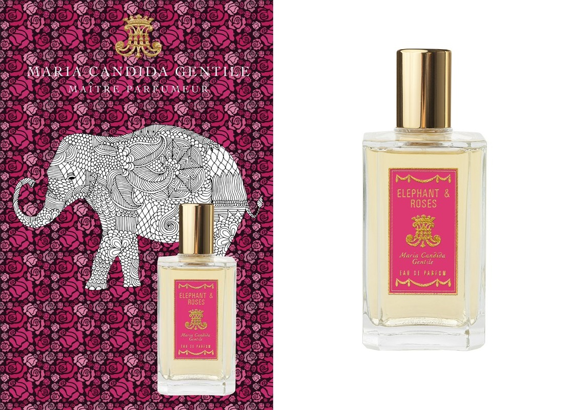 Maria Candida Gentile Elephant&Roses