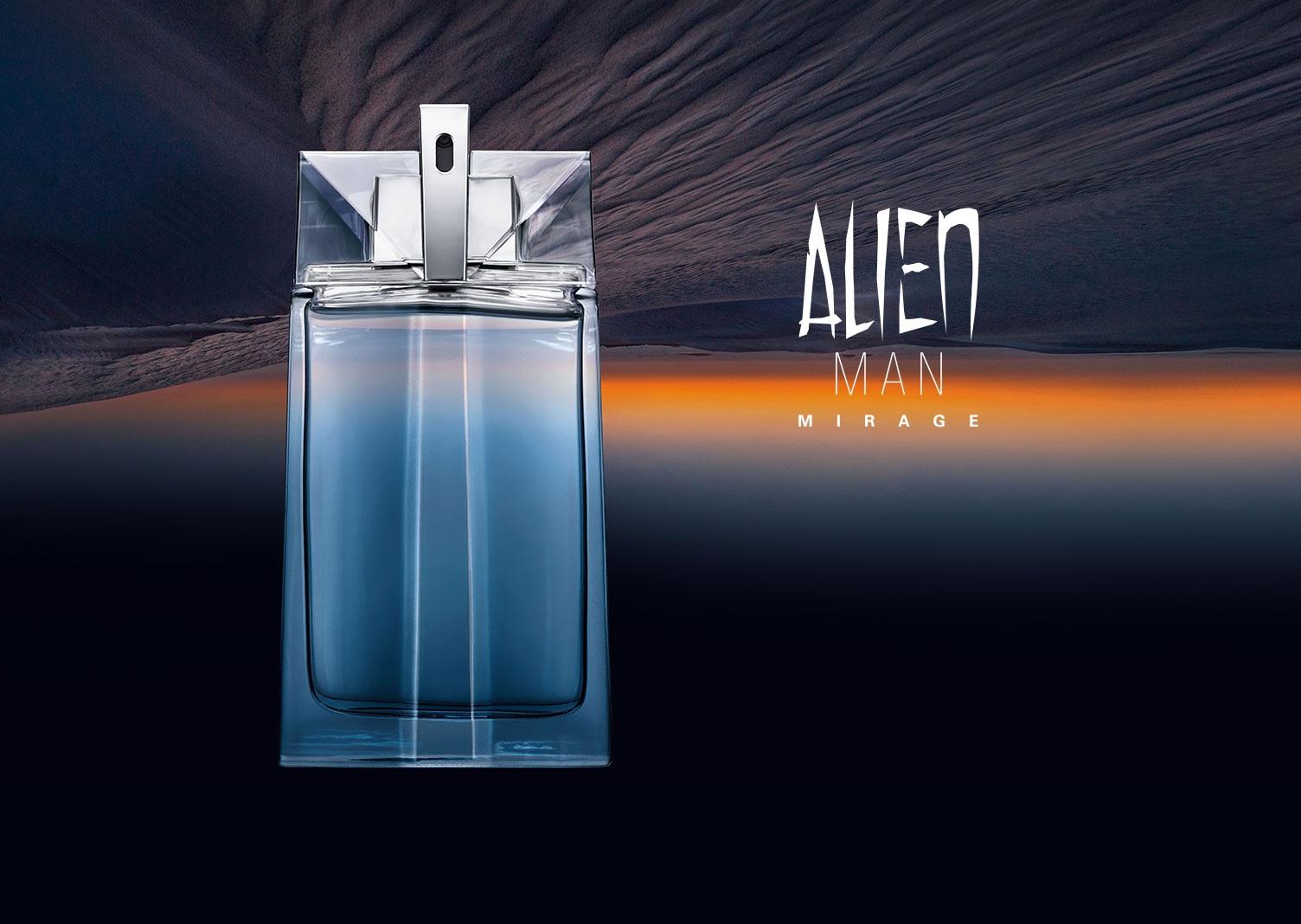 Mugler Alien Man Mirage kampania