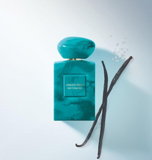 Armani Prive Bleu Turquise - oficjalna fotografia