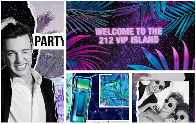 Reklama perfum Carolina Herrera 212 VIP Men Party Fever