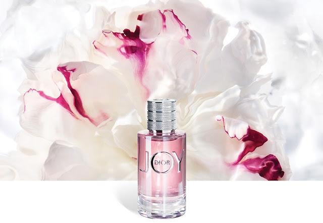 Oficjalna grafika perfum Dior Joy