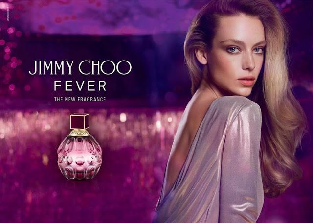Hannah Ferguson w kampanii Jimmy Choo Fever