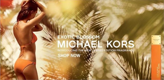 Reklama perfum Michael Kors Exotic Blossom