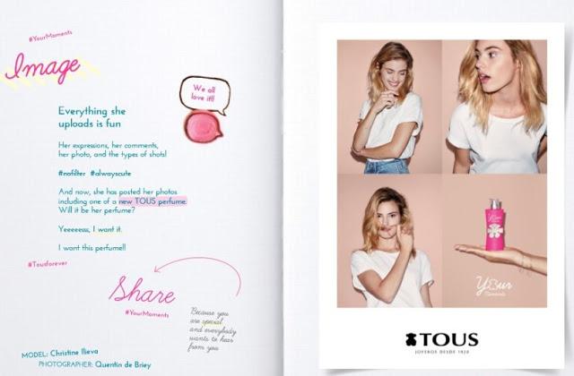 Reklama perfum Tous Your Moments
