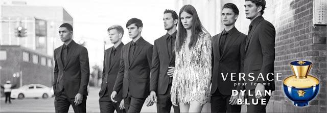Reklama perfum Versace Pour Femme Dylan Blue
