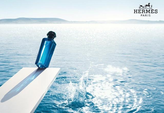 Reklama perfum Hermes Eau de Citron Noir