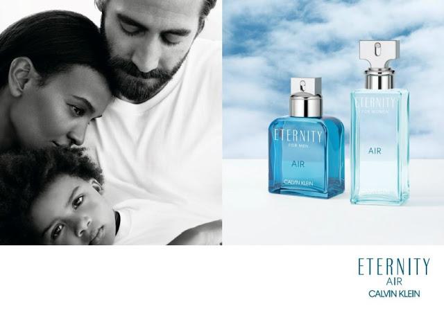 Reklama perfum Calvin Klein Eternity Air