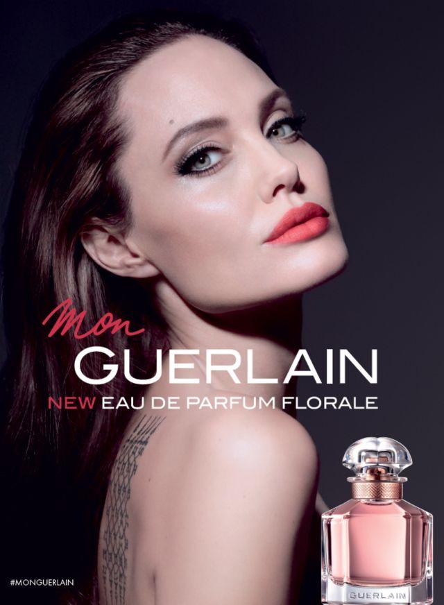 Angelina Jolie w kampanii Mon Guerlain Florale