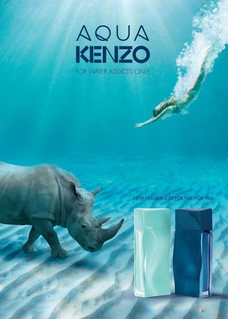 Pełna reklama duetu Aqua Kenzo for Him i for Her