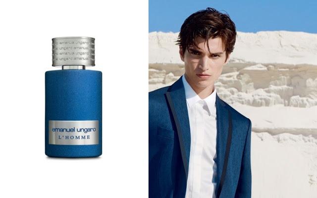 Reklama perfum Emanuel Ungaro L'Homme