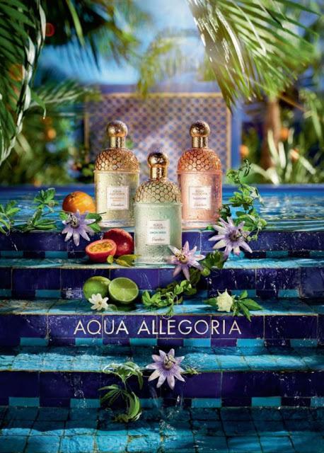 Oficjalna reklama 2018 Guerlain Aqua Allegoria Passiflora