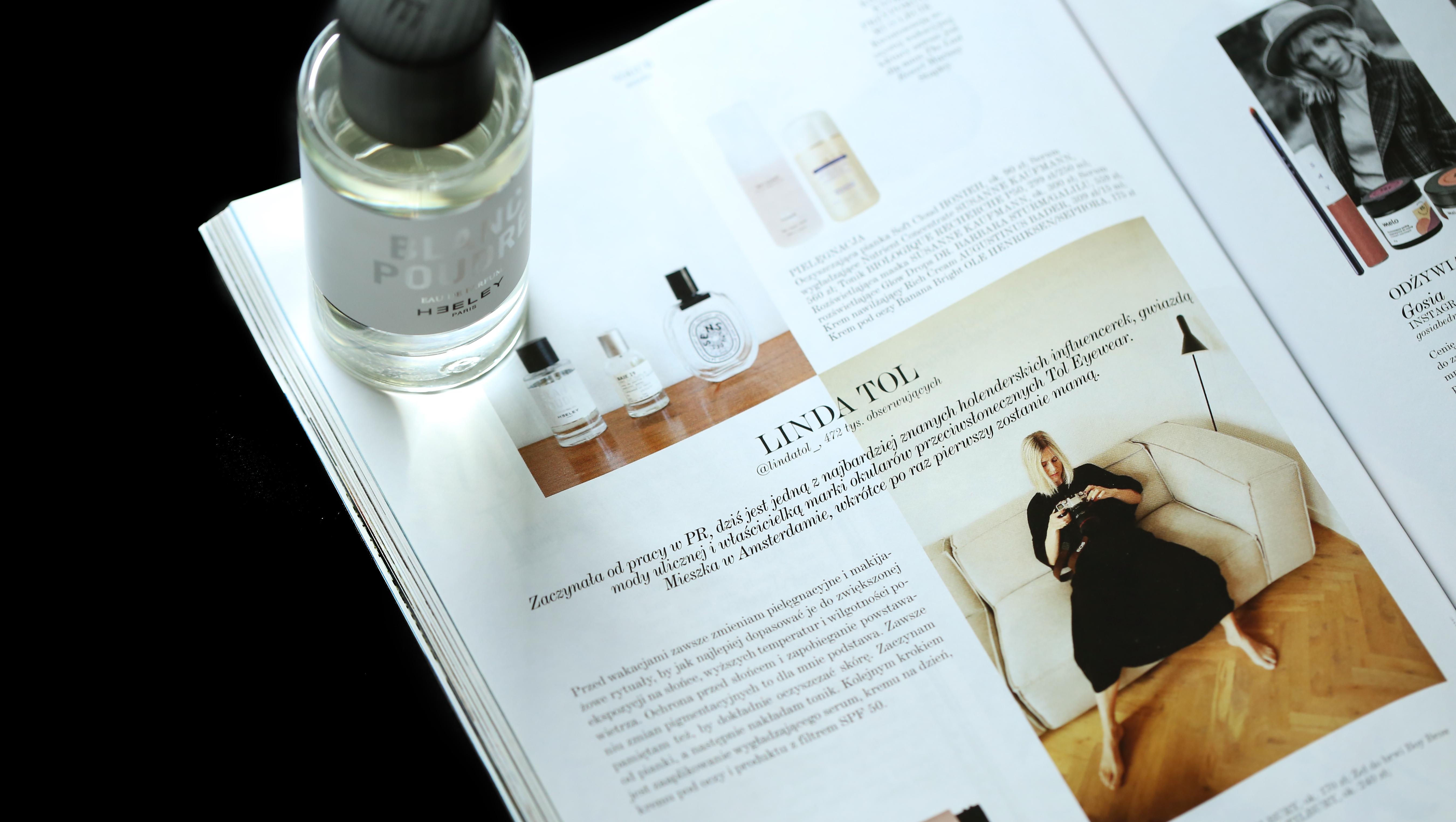 Heeley Blanc Poudre x Vogue Polska