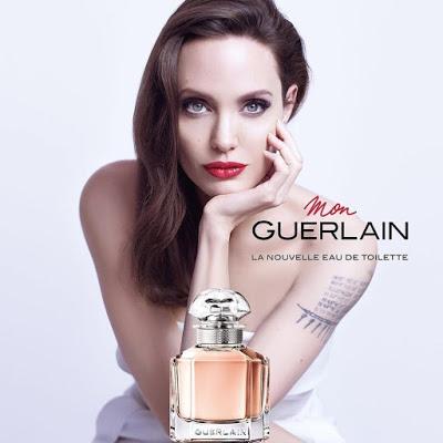 Angelina Jolie w kampanii Mon Guerlain EdT