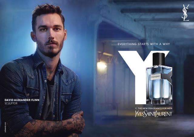 Reklama perfum Yves Saint Laurent Y