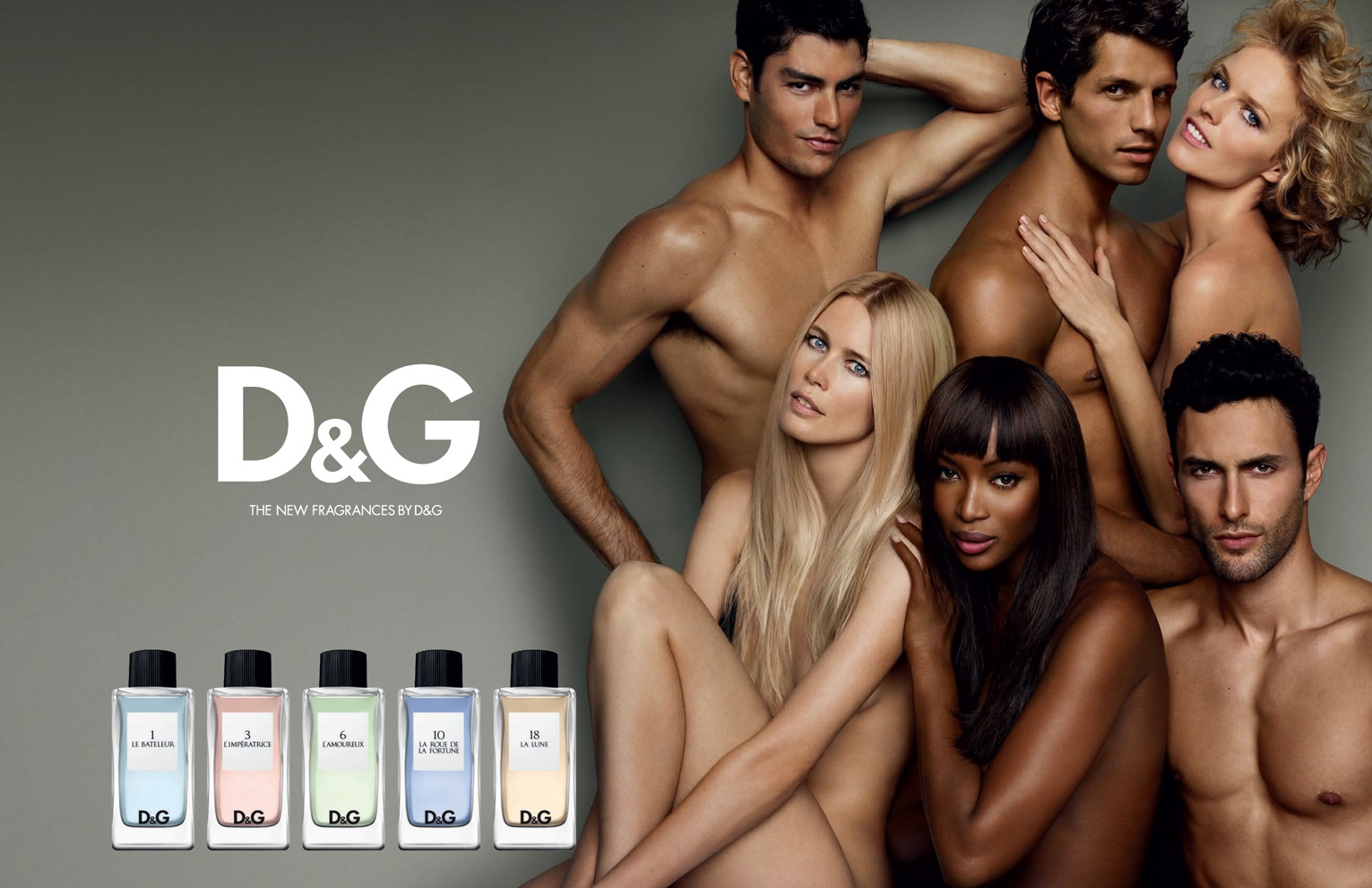 D&G Anthology L Imperatrice Naomi Campbell