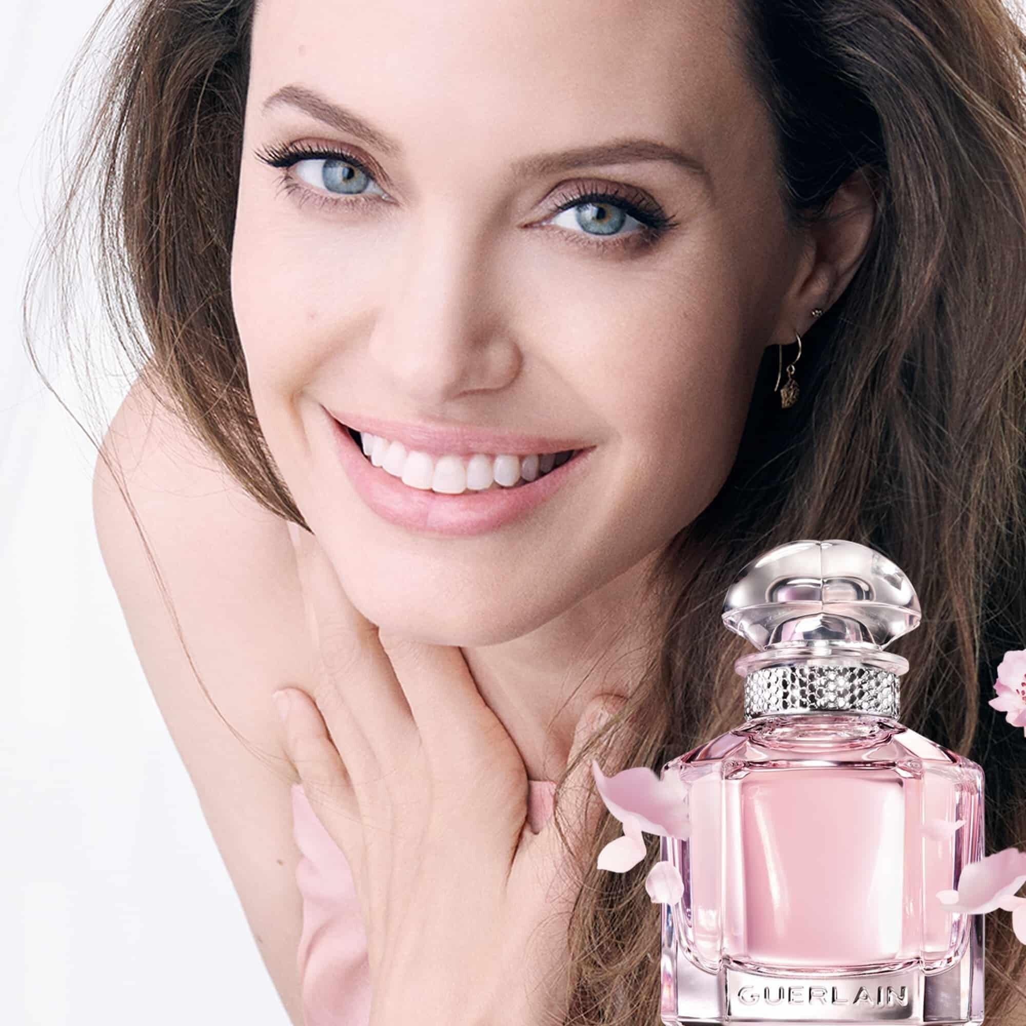 Guerlain Mon Guerlain Sparkling Bouquet angelina jolie