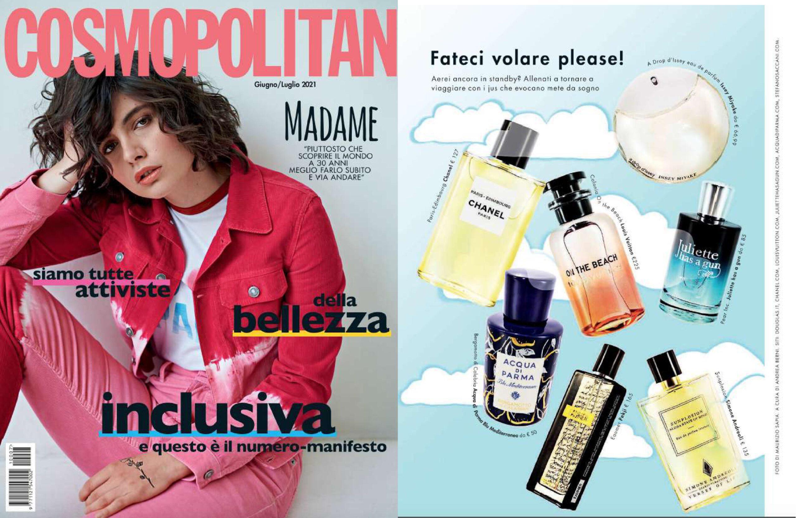 Simone Andreoli Sunplosion x Cosmopolitan