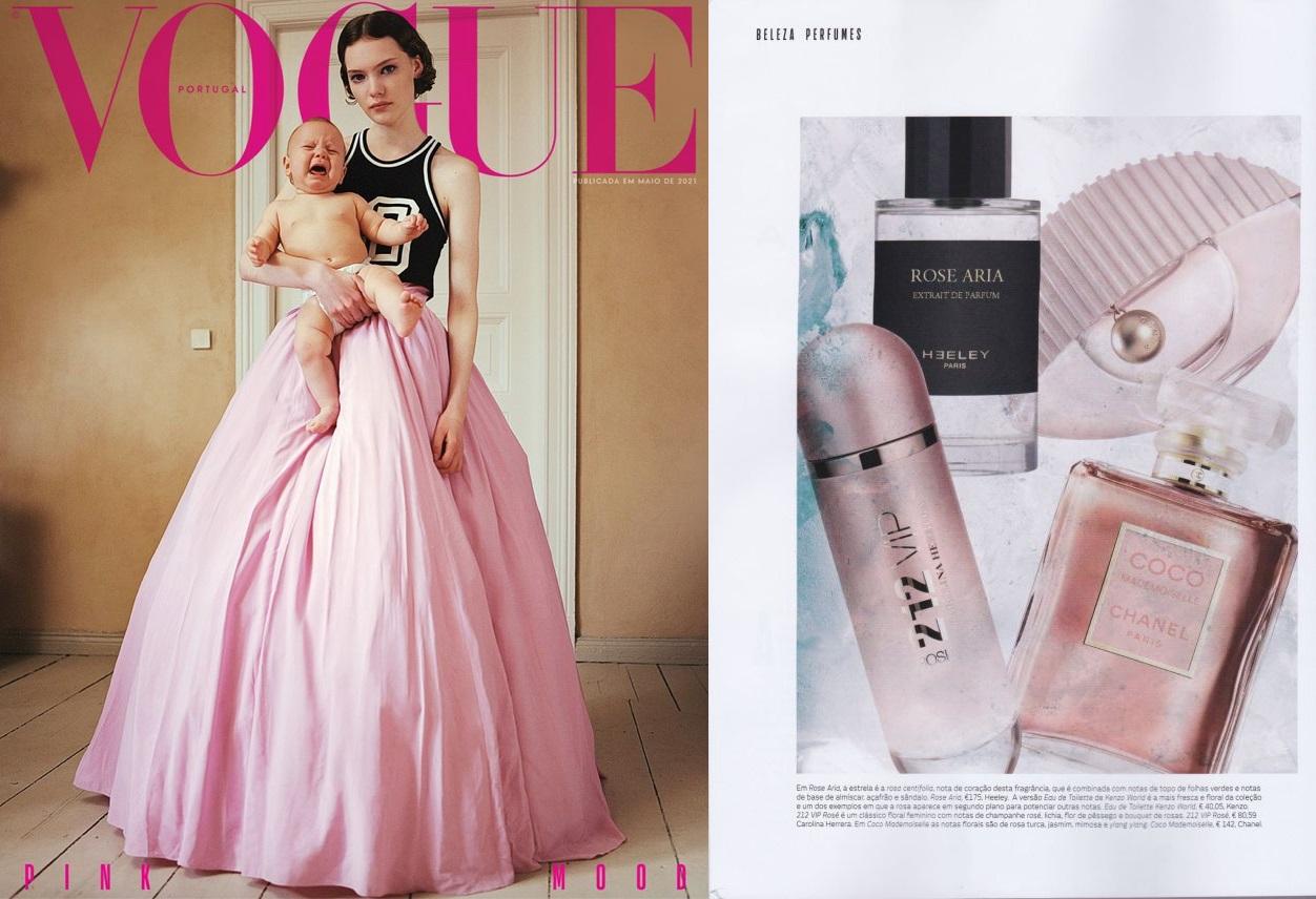 Heeley Rose Aria x Vogue Portugal