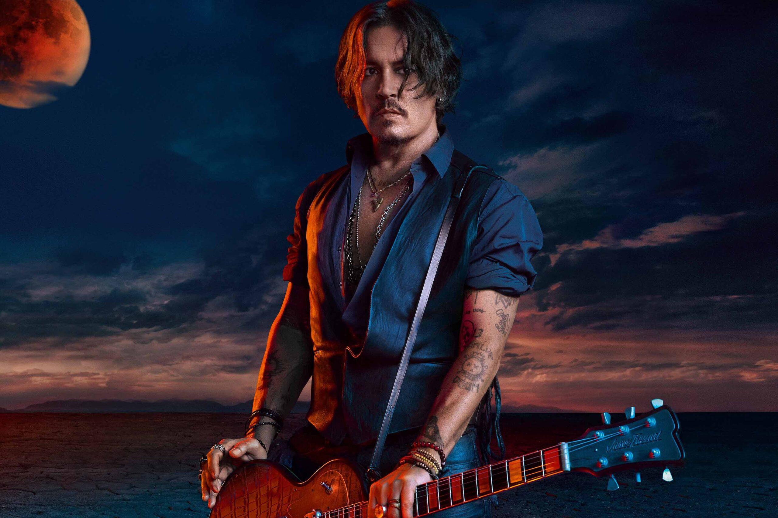 Johnny Depp w kampanii Sauvage Elixir